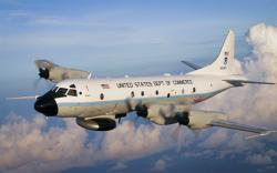 NOAA Aircraft in flight